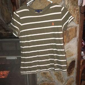 striped Ralph Laure polo shirt